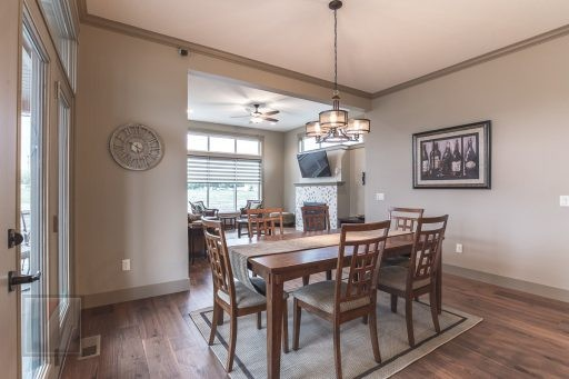 Valley View Terrace Model Home Dining Room 2