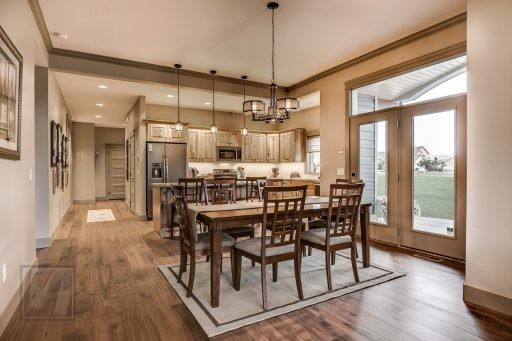 Valley View Terrace Model Home Dining Room