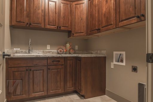 Valley View Terrace Model Home Laundry Room