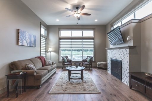 Valley View Terrace Model Home Living Room