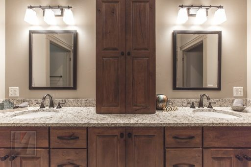 Valley View Terrace Model Home Master Bathroom 2