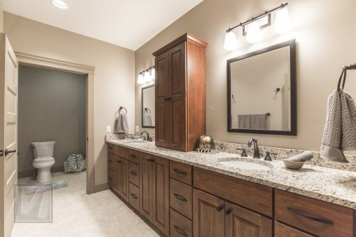 Valley View Terrace Model Home Master Bathroom