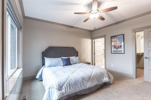 Valley View Terrace Model Home Master Bedroom 2